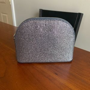 Kate Spade ♠️ Small Dome Cosmetic Bag: Dusknavy